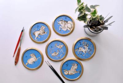 Serie zodiaco - scagliola